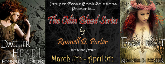 The Odin Blood Series Tour Banner
