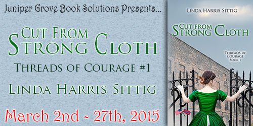 Cut From Strong Cloth Tour Banner