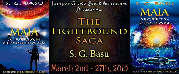 The Lightbound Saga Tour Banner
