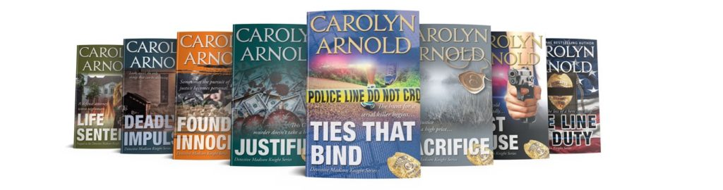 Detective Madison Knight Books