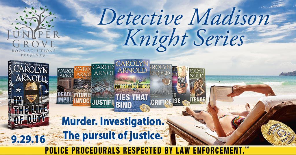 Detective Madison Knight Series Banner